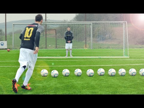 Best Free Kicks Montage | Vol.25 | Ronaldo Vs. Messi Shots | Freekickerz video