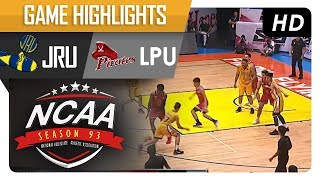 Heavy Bombers vs. Lyceum Pirates | NCAA 93 | MB Game Highlights | July 11, 2017