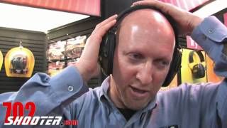 Howard Leight Impact Sport Electronic Ear Muff at 2011 SHOT Show