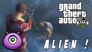 Easter Egg : Un Alien dans GTA 5 !