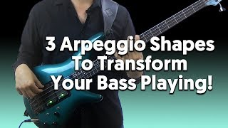 3 Arpeggio Patterns That Can Transform Your Bass Playing