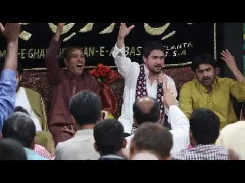 Farhan Ali Waris At Dar E Abbas (atlanta, Georgia, Usa)shaban Jashan video