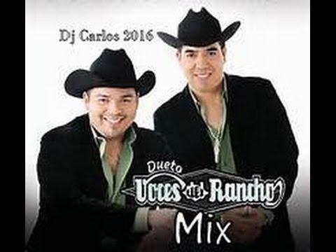 Voces del Rancho Norteño Mix ( Dj Carlos 2016 )
