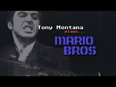 Tony Montana plays... Mario Bros!