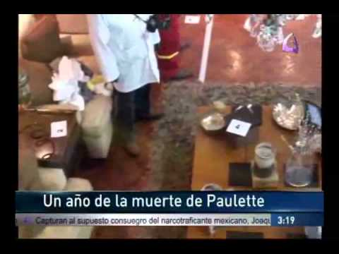 """""""A un año de la muerte de Paulette 23/03/11"""" EfektoTV Noticias presenta:"""