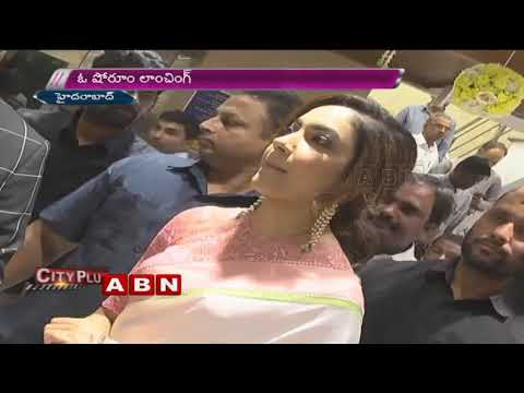 Actress Ritu Varma launches Chennai Silks, Mehdipatnam