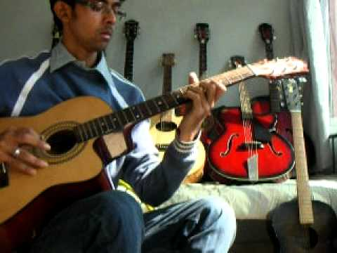 Udi Song(guzaarish)on Guitar. video