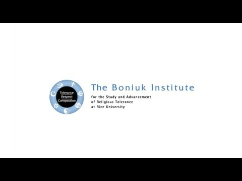 The Boniuk Institute for the Study and Advancement of Religous Tolerance