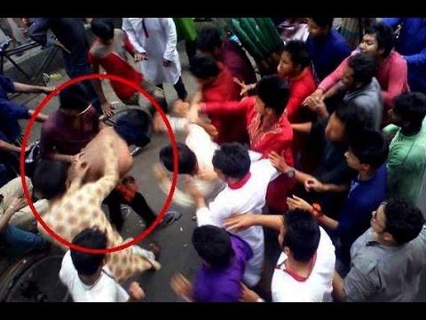 দেখুন কি ঘটেছিলো পয়লা বৈশাখের দিন টিএসসি তে !!! Bangladeshi Happy New Year 2015 Scandal video