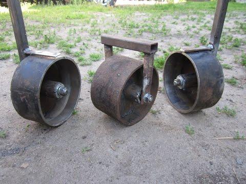 Опорные колеса на подшипниках без токарных работ