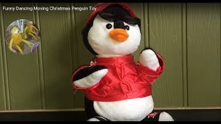 Funny Dancing Moving Christmas Penguin Toy