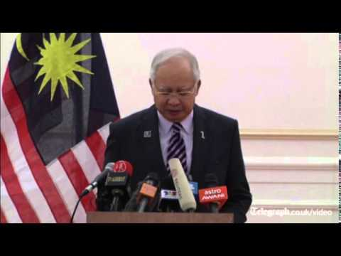 MH17: Malaysian PM confirms black boxes are to be handed over