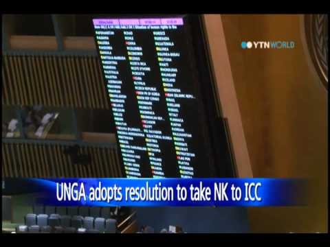 UN General Assembly votes to refer N.Korea rights issue to ICC / YTN