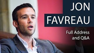 Jon Favreau | Life as Obama's Speechwriter | Full Address and Q&A