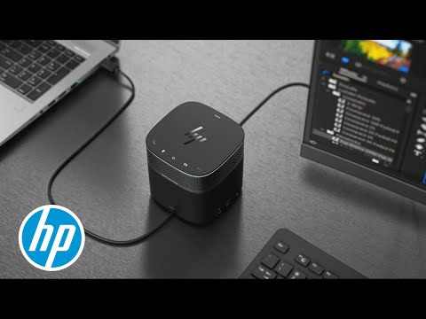 HP ZBook Dock with Thunderbolt 3 Technology Overview   Z Workstations   HP