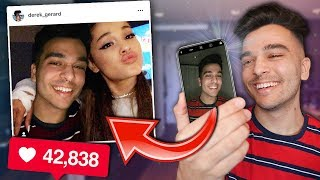 I FAKED Meeting Ariana Grande and PRANKED INSTAGRAM!