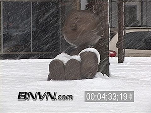 12/30/2005 Winter Storm video from Saint Paul, MN