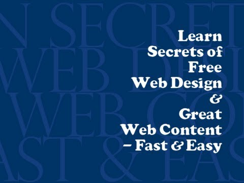 How to Learn Web Design Fast