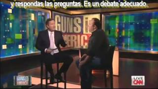Alex Jones Vs Piers Morgan: Sobre el Control de Armas - En Vivo en la CNN