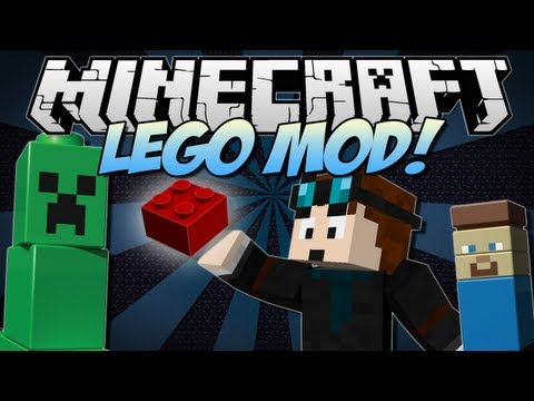 Minecraft | LEGO! (Order, Build and Relive Childhood!) | Mod Showcase [1.6.2]