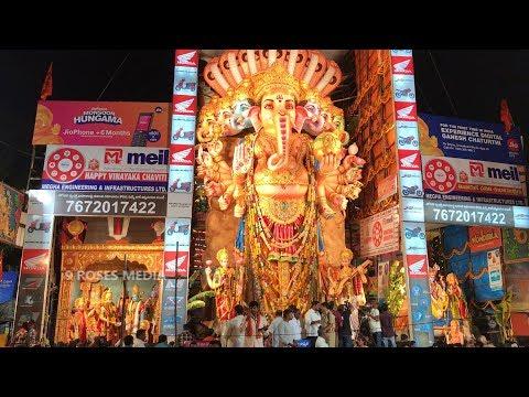Khairatabad Ganesh 2018 Full View Video | Ganesh Chaturthi | Vinayaka Chavithi #9RosesMedia
