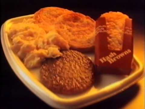 McDonalds Breakfast Commercial Australia 1992