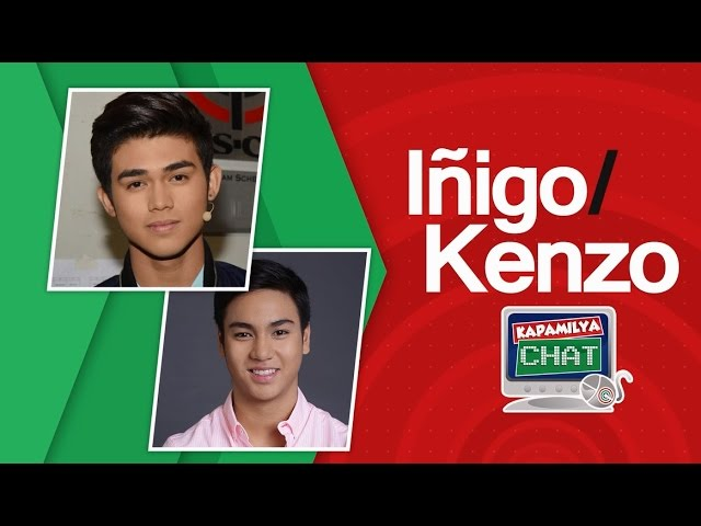 Kapamilya Chat with Inigo Pascual and Kenzo Gutierrez for And I Love You So