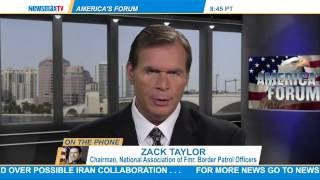 Zack Taylor: The chairman of the National Association of Former Border Patrol Officers