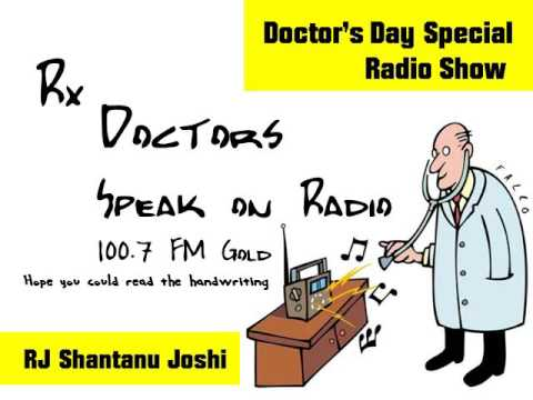 Doctors day special radio show by RJ Shantanu Joshi