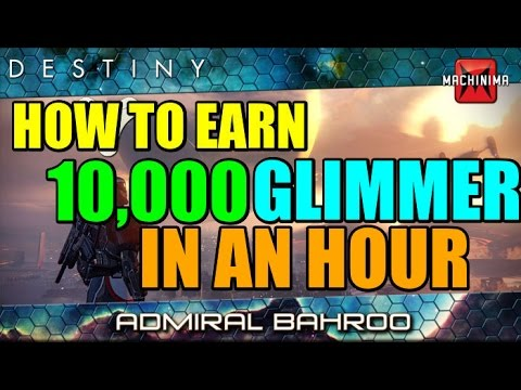 Destiny Beta: How to Make 7-10k Glimmer in an Hour!