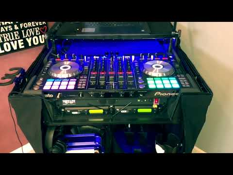 2018 DJ Rig build - Pioneer SX2 & Odyssey Black Label 2U case - DJ Brian Harris
