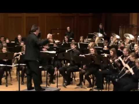 Lawrence University Symphonic Band & Wind Ensemble - November 10, 2012 (Livestream version)