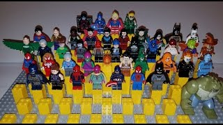 All of the Summer 2016 Lego DC and Marvel Super Hero Minifigures