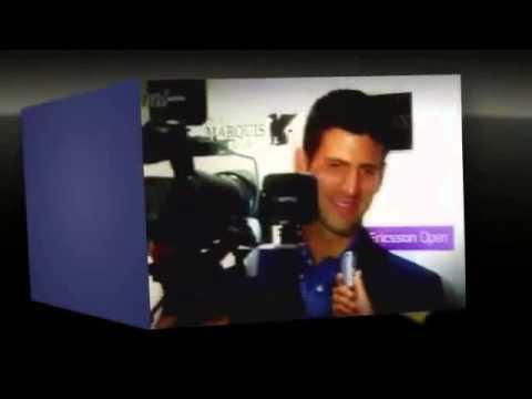 Novak Djokovic v Somdev Devvarman  ATP Sony 2013