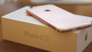 Apple iPhone 6S Unboxing - Gold Variant (32 GB) - Latest 2017