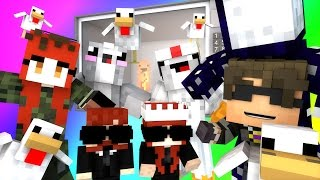 Minecraft Mini-Game : DO NOT LAUGH! (WHAT THE HECK IS THAT THING ROSS?!) w/ Facecam