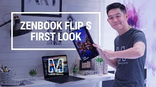 ASUS ZenBook Flip S Hands-On: World