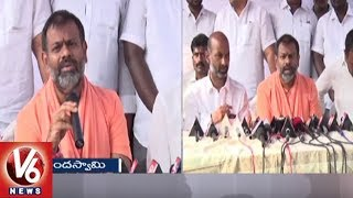 Swami Paripoornananda Reacts On TS Assembly Election Results 2018  - netivaarthalu.com