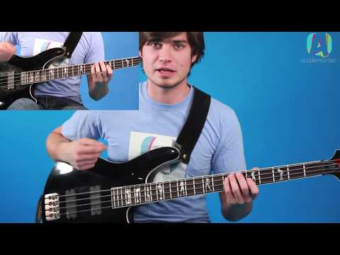 The Adventures of Rain Dance Maggie - Bass Tutorial (HD)