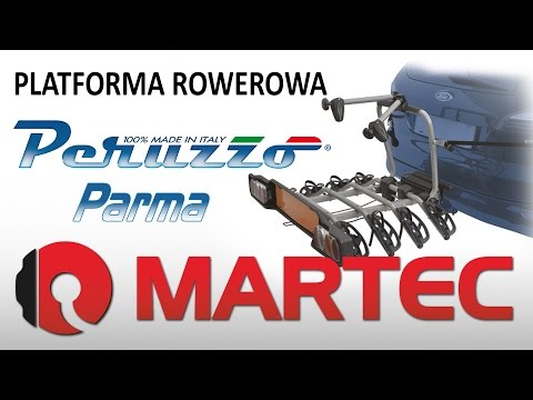 Montaż i prezentacja platformy rowerowej Peruzzo Parma 4