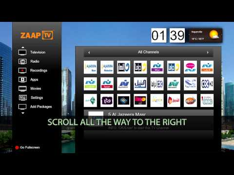 How to add MBC channels to your ZAAPTV (ZAAPTV 509N Jailbreak)