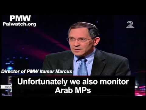 Israeli TV interviews Itamar Marcus - PMW report sparks political storm in Israel