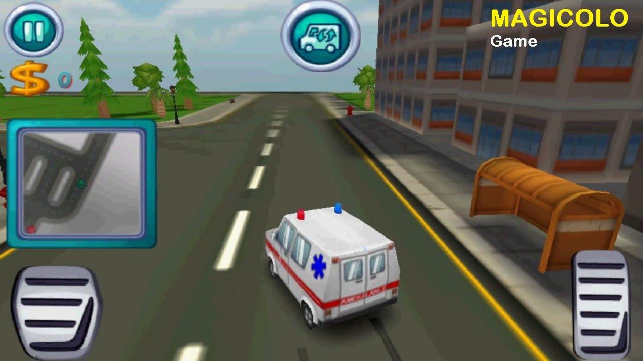 Ambulance Rush Car Games