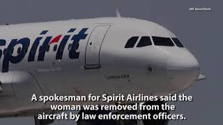 Woman Removed From Spirit Airlines Flight For Profanity-Laced Rant