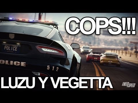 COPS Con Vegetta en Need For Speed Rivals PS4 LuzuGames
