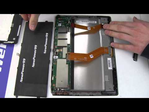 How to Replace Your Sony Xperia Tablet S Battery