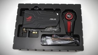 ASUS Xonar Phoebus ROG Gaming Sound Card Unboxing & Overview