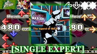 【DDR EXT】 The legend of MAX [SINGLE EXPERT] 譜面確認+クラップ