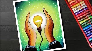 Categorias De Videos Save Electricity Pictures For Drawing Competition