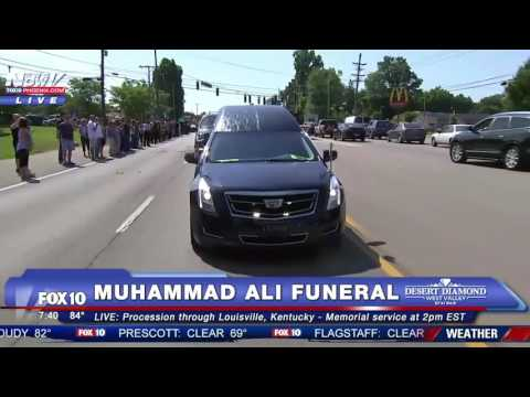 FULL: Muhammad Ali Funeral Procession in Louisville, Kentucky - FNN
